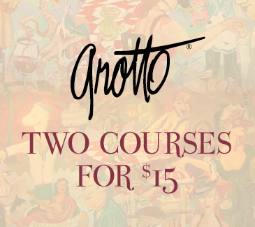 Grotto Lunch Special